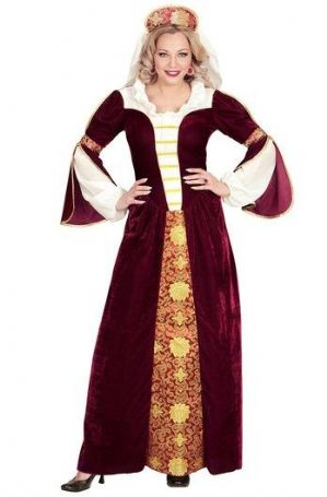 Velvet Queen Medieval Plus Size Costume (00034)